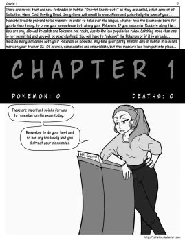 Nuzlocke on Ice: Chapter 1, page 5 by Katarinu