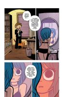 Scott Pilgrim 5 page 76 color by whoisrico