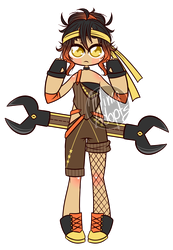 [Closed] Wrench Wielder Adoptable by Mima-Adopts