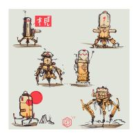 Tube Bots by SeanLenahanSD