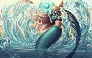 Rusalka Classic Splash Art by MimmiIsbest
