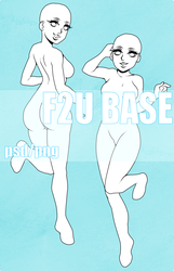F2U Pin-up/reference BASE by peterpeckerhead