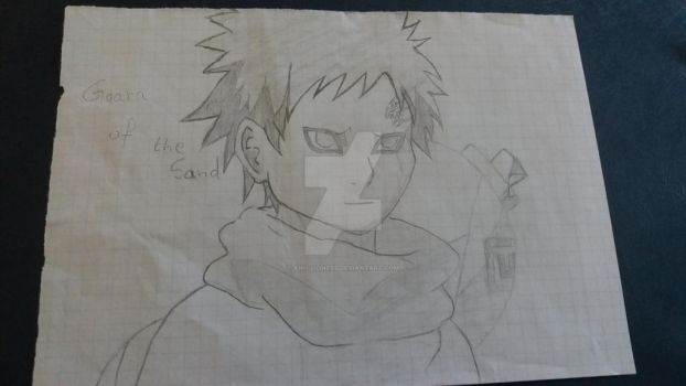 Gaara of the Sand by Anu-Lioness