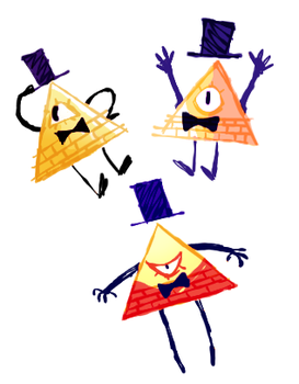 bill doodles by ashlooloo