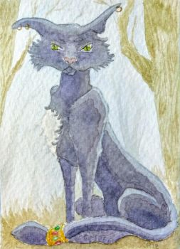 Cait Sith -Scottish folklore by Mymylle