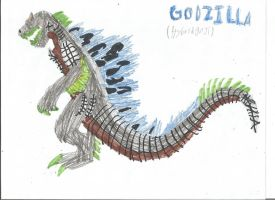 Godzilla Ruler Of Monsters- Godzilla Concept Art by crocodile-wolf-9000