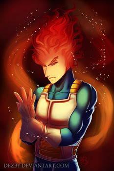 Grillgeta (Grillby and Vegeta Mix +Video) by Dezby