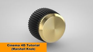 Model the Marshall Knob (Cinema 4D Tutorial) by NIKOMEDIA