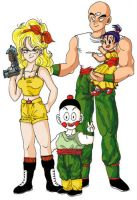 Tien's family by Oolong-sama