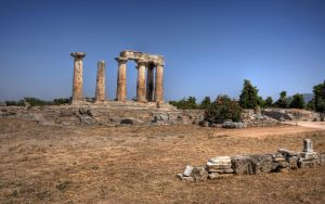 Ruins of Ancient Corinth by Korpsus