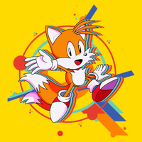 Sonic Mania - Miles ''Tails'' Prower [4K] by Alaska-Pollock