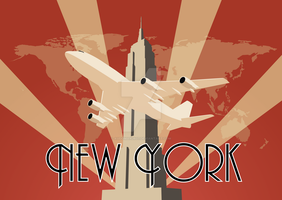 Art Deco New York 2.0 by audoman2607