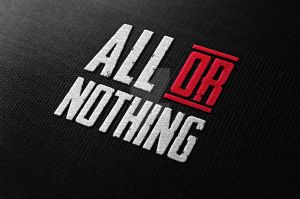 All or Nothing logo design by Dannygdesigns