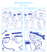 Bilingualism for me by SmokyJack