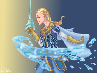 Water powers by MayStardust