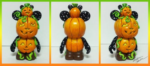 Vinylmation 3'' Stack O' Jacks Custom by StephanieCassataArt