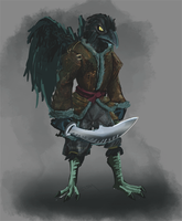Kenku Guard by StormAndy