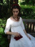 Reading or Musing by Fiofiorina