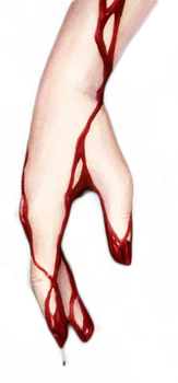 Blood on Hands PNG by FlowerBloom172