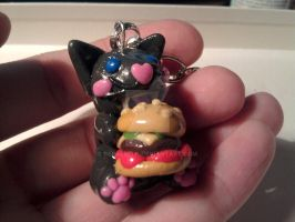 I Can Has Cheezburger Key-chain by berabella