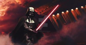 Darth Vader - Mustafar Training - Star Wars Day by junkisakuraba