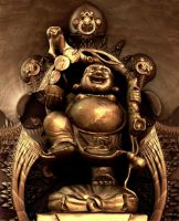 Laughing Buddha by marijeberting