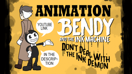 [ANIMATION] BATIM - Don't deal with the ink demon by SKY-Lia