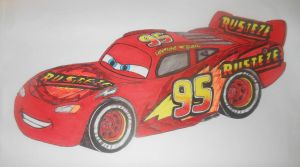 Cars 3: custom Lightning McQueen(2.0) by sgtjack2016