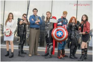 Avengers Cosplay Group by ReginaIt