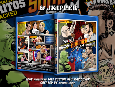 jkipper and Mohamed fahmys Summerslam 2013 cover by THE-MFSTER-DESIGNS