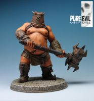Cerus The Skullcrusher Painted by PureEvilMiniatures