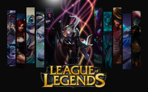 Diana League of Legends Wallpaper by ViciousBlue