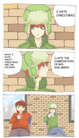 Red and Green by ike-no-koi