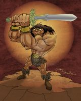 Conan The Barbarian by Stnk13