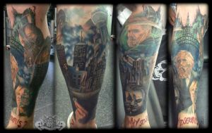 Batman by state-of-art-tattoo