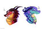 Wings of Fire Adopt Auction #3 (Open) by SShadowFire