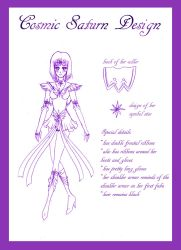 Cosmic Saturn Design Sketch by silver-eyes-blue