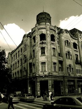 By an old building by geniuzastare