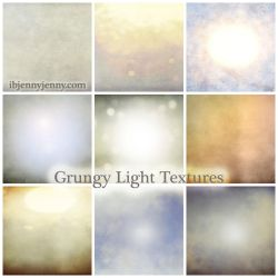 FREE GRUNGY LIGHT TEXTURES by ibjennyjenny