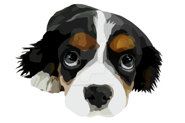 Puppy Vector by Readsway2much