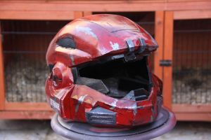 Mk V B helmet from halo reach by killjoy95