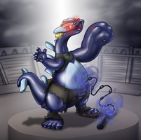 Vectordragon Shadow Lugia Commission TF by Redflare500