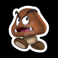 Mario - Goomba by sketchygerry