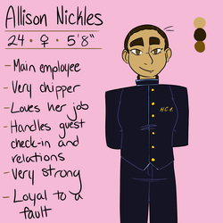 Allison Nickles by OwlCreme