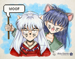 [Inuvember #08] Woof by Bella-Colombo