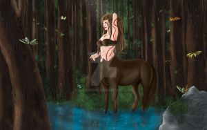 In The Gardens (nude+wallpaper available) by Almerious