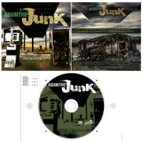 Absinthe Junk EP Cover by junobean
