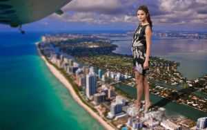 Giantess Selena Gomez by Cinematic-GTS