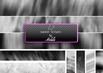 12 banner textures by Miss-Chili