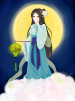 (APH)_Vietnam in Le dynasty's clothes by madisoncamellia